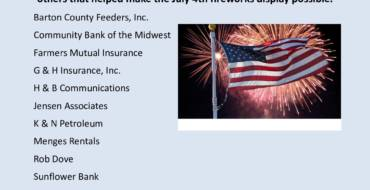2019 4th of July Sponsors