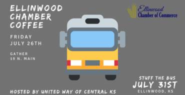 Ellinwood Chamber Coffee- Hosted by United Way of Central KS