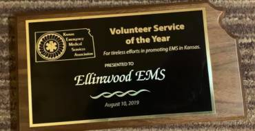 KEMSA 2019 Volunteer Service of the Year