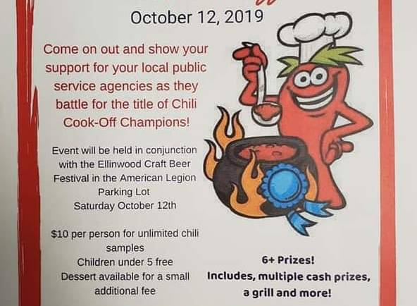 3rd Annual Battle of the Badges Chili Cook-Off
