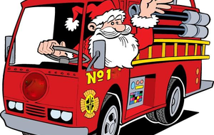 Santa is coming to Ellinwood Fire Department on December 7th