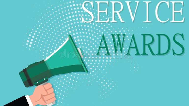 Service Award- August 2021